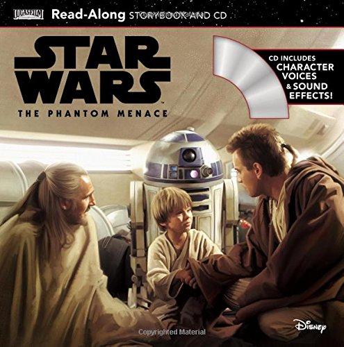 Star Wars: The Phantom Menace Read-Along Storybook and CD por Elizabeth Schaefer
