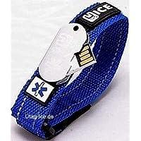 10er Pack Komonee Autismus Bewusstseins Blau Silikon-Armband