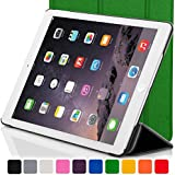 """ForeFront Cases® New Apple iPad Mini 7.9"""" with Retina Display Leather Case Cover / Stand with Magnetic Auto Sleep Wake Function For New 2013 Apple iPad WiFi 16Gb, 32Gb, 64Gb, 128Gb - GREEN"""