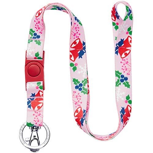 Blueberry Style Weihnachten Urlaub Excellence Secret Garden Baby Rosa Damenmode Lanyard Schlüsselband für Schlüssel/Ausweis / Anhänger, 2cm (B) -