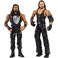 WWE Batalla Wrestlemania figuras Undertaker y Roman Reigns (Mattel FMH65)