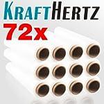 72 Rollen KRAFTHERTZ XL Paletten-Stre...