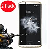 2 Pack - ZTE Axon 7 Verre Trempé, Vitre Protection Film de protecteur d'écran Glass Film Tempered Glass Screen Protector Pour ZTE Axon 7