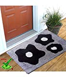 #1: Online Quality Store Perfect Cotton Door mat for different locations of a house (Multi, Cotton,16*24, Medium) Offer Price for 5 days