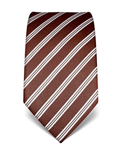 vincenzo-boretti-corbata-seda-krawatte-aus-reiner-seide-gestreift-marron-blanco-unica