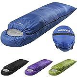 Adtrek Hood 250 - Einzelschlafsack für 2 Jahreszeiten - rechteckig - Lila