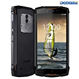 Smartphone Ohne Vertrag, DOOGEE S55 Lite IP68 Outdoor Handy - 4G Android 8.1 Smartphones Wasserdichte Shockproof - MTK6739 Octa-core - 5.5 Zoll HD+ - 5500mAh Batterie - 13.0 MP+8.0MP Kamera - Orange