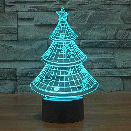 TechCode 3D Haifischform Table Light, Individualität 3D Art Sculpture Kreative Dekorative Night Light LED Tischleuchte Romantic Friends Send Gifts (A10)