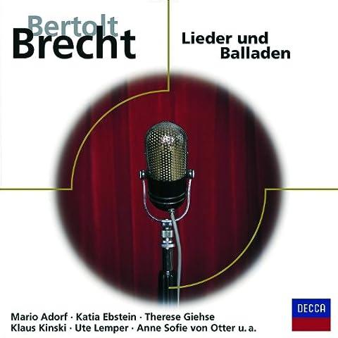 Eisler: Das Lied von der Judenhure Maria Sanders (Katja Ebstein Lieder)