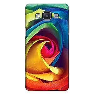 DASM United Samsung A5 2015 Premium Back Case Cover - Rainbow Rose