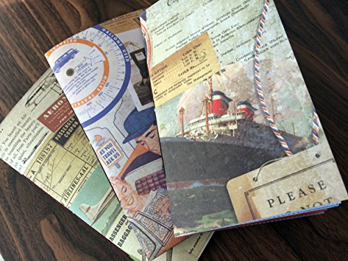 3-x-junk-journal-travellers-notebook-inserts-fauxdori-midori-compatible-tim-holtz-vintage-travel-the