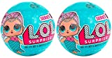 SET OF 2 LOL Mermaid Surprise Lil Outrageous Littles New Series 1! Twin Pack!