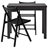 IKEA BJURSTA/TERJE - Table and 2 chairs Brown-black/black - Best Reviews Guide