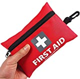 Mini First Aid Kit,92 Pieces Small First Aid Kit - Includes Emergency Foil