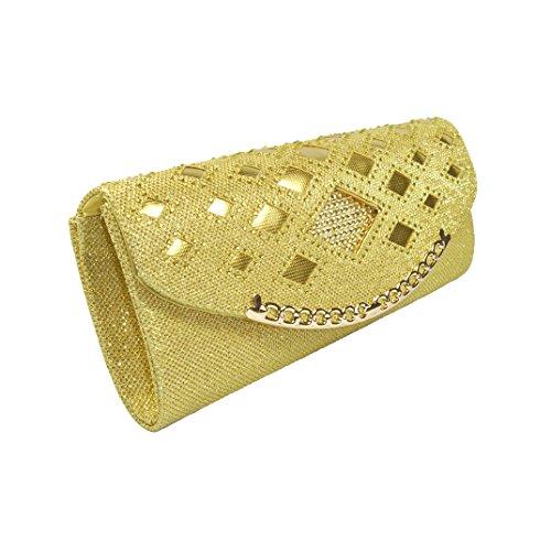 Aimira - Borsa a tracolla donna Gold