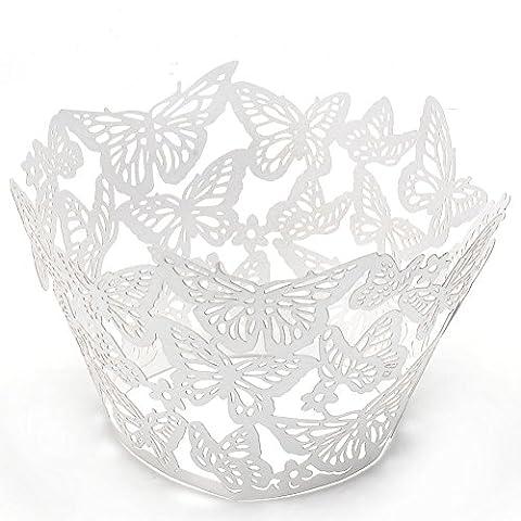 Wrapper Costume - Jovivi 25Pcs Emballages De Gâteau Papier Caissettes