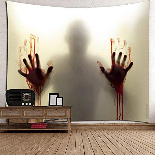 MAFYU Hohe Qualität Wandteppiche Halloween Horror Spooky Ghost multifunktionale Wandteppich Polyester wandhängende Strand