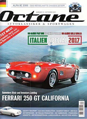 Octane #30 2017 Ferrari 250 GT California RSR Zeitschrift Magazin Einzelheft Heft