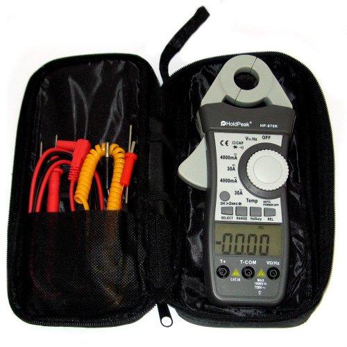HoldPeak HP-870K mA Stromzange DC Zangen-Multimeter Gleichstromzange Amperemeter Digital