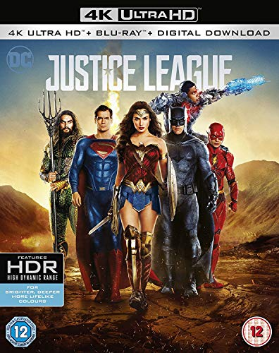 Justice League [4k Ultra HD + Blu-ray + Digital Download]