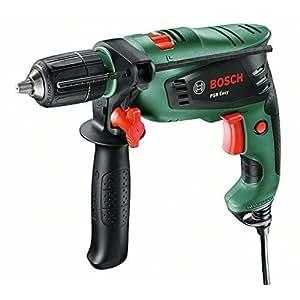 Bosch 0603130002–PSB Easy (500W) trapano, Verde/Nero
