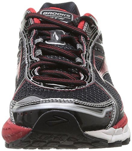 Brooks Adrenaline Gts 15 M, Running Homme Multicolore (Blk/Hr Red/Anthracite)
