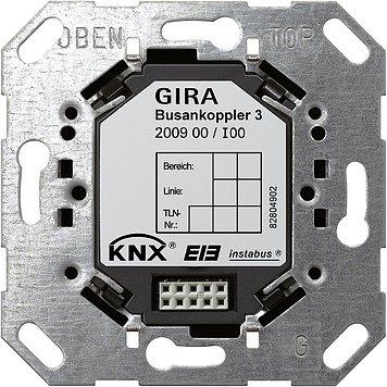 Preisvergleich Produktbild Gira 200900 Busankoppler 3 UP m.externem Fühler