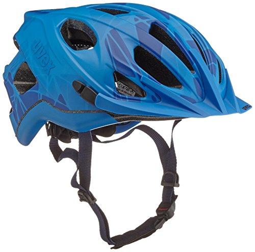 Uvex Fahrradhelm Adige Cc, Blue Mat, 52-57, 4107960415