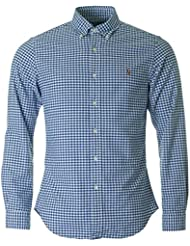 Polo Ralph Lauren Slim Fit Gingham Checked Oxford Shirt
