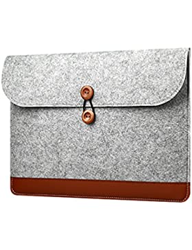 YiJee Universal Soft Touch Hülle Laptop Tragender Notebook Tasche