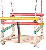 Tom & Jerry Babyschaukel Kinderschaukel Gitterschaukel Retro Holz Schaukel zum Aufhängen*