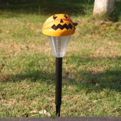 INOVEY 2pcs Halloween-Geist-Kürbis-weiße LED beleuchtet Garten-Hof-Feiertags-Dekorations-Lampe - weißer Geist (Halloween-dekorationen Hof)