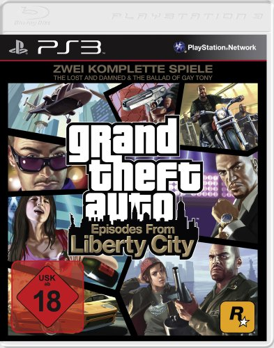 Preisvergleich Produktbild Grand Theft Auto - Episodes from Liberty City (The Lost and the Damned & The Ballad of Gay Tony) [Software Pyramide] - [PlayStation 3]