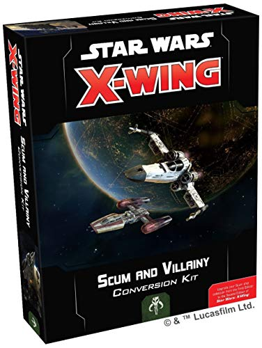 Fantasy Flight Games Scum and Villainy Conversion Kit - Star Wars X-Wing Miniatures Game 2nd Edition