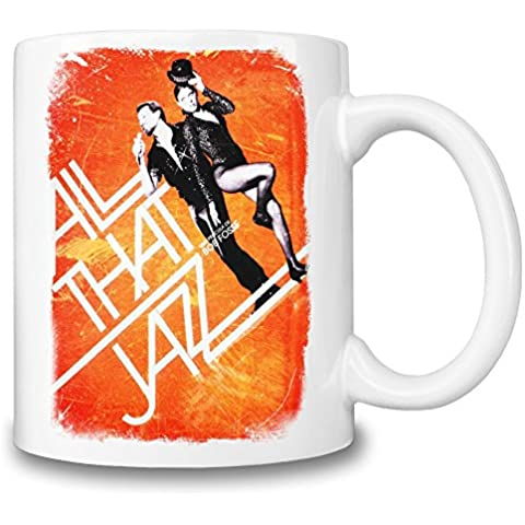 All That Jazz Poster Tazza Coffee Mug Ceramic Coffee Tea Beverage Kitchen Mugs By Slick Stuff