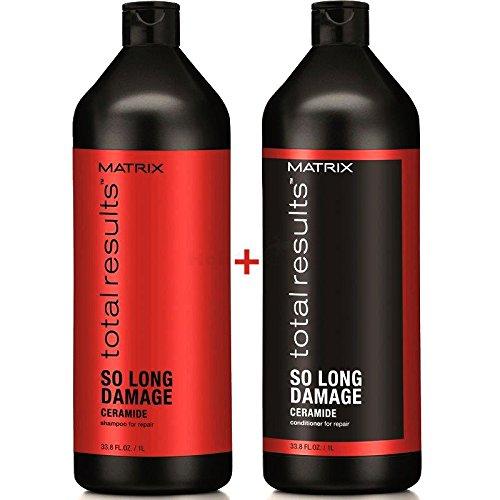 Matrix Total Results Repair So Long Damage Conditioner 1L + Shampoo 1L