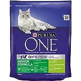 Purina ONE Indoor Turkey & Wholegrains 800 g, Pack of 4