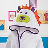 Sancarlos - Albornoz dragón rizo, algodón, color blanco, talla 10-12