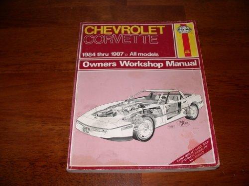 Chevrolet Corvette 1984-87 Owner's Workshop Manual Chevrolet Cavalier Owners Manual