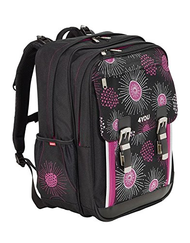 4You Flash Schulrucksack Classic Plus 342 XRay Flower 342 xray flower - 2