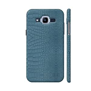 Colorpur Turquoise Alligator Skin Printed Back Case Cover for Samsung J2 Pro