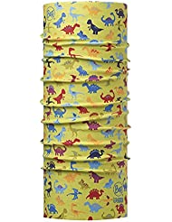 Original Buff Dinos Lime - High UV Protection para niños hasta 3 años, diseño estampado