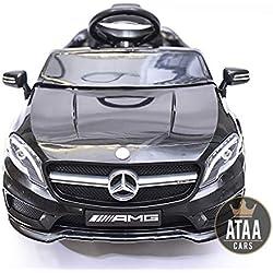 ATAA CARS Mercedes GLA Voiture électrique pour Enfant avec Télécommande - Noir