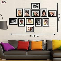 Ajanta Royal Classic set of 12 Individual Photo Frames (12-6x8 Inch) - WPC-13