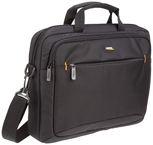 AmazonBasics 14-Inch Tablet Bag, Black