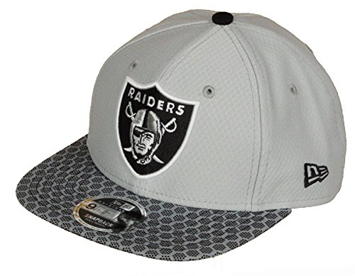 6164f227 Gorra New Era – 9Fifty NFL Onf Oakland Raiders gris/negro talla: S/