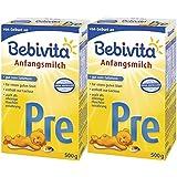 Bebivita Pre Anfangsmilch - von Geburt an, 2er Pack (2 x 500g)