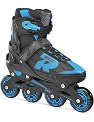 Roces Zapato Extensible 400826-001, Bimbo, Astro Blue Negro, 34-37