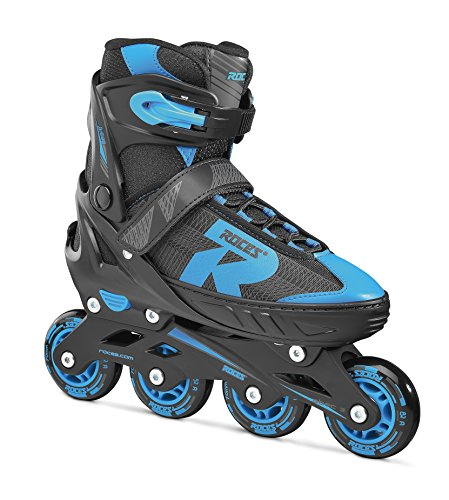 Roces Kinder Jokey 2.0 Boy Inliner, Black-Astro Blue, 34-37