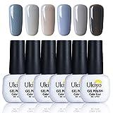 Ukiyo Gel Polish 6UV-LED Soak Off Glitter Nagellack Farben Kollektionen Salon Manicure LACQUERS Geschenk Sets